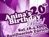 Flyer: Anina\'s Birthday Bash